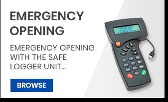 EMERGENCY OPENING safe lock